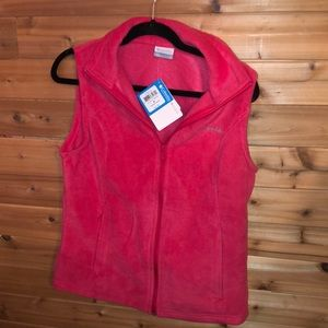 BNWT Columbia fleece vest